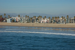 Venice Ocean Front (loudguitars) Tags: ocean venice beach pacific condos venicepier marvinbraudebiketrail