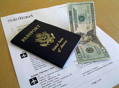 Money, tickets, passport
