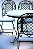 Blanco sobre negro // White on Black (pasotraspaso. Jesus Solana Fine Art Photography) Tags: white snow storm black cold blanco photography frozen spain chair nikon europe photos nieve negro calm silla tormenta calma frio forja nikond80 pasotraspaso jesussolana