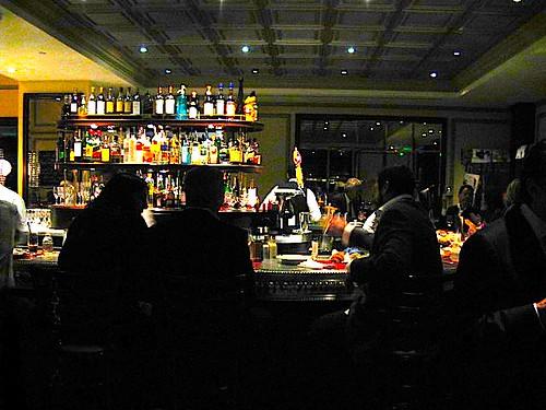 bar dark