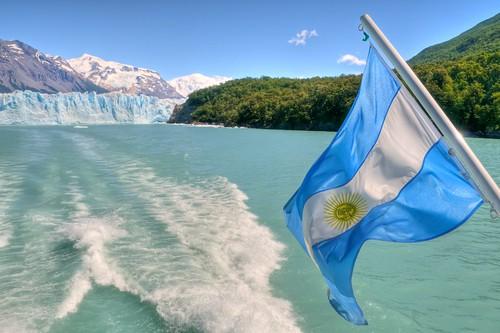 Leaving Perito Moreno Glacier