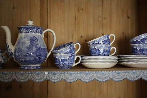 The Sunday tea set : )