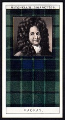 Cigarette Card - Clan MacKay