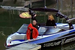 Undercover Boss in his Wakesetter VLX