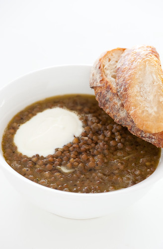 gently spiced lentil soup