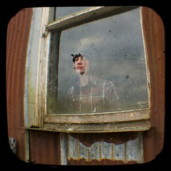(balloonframegraham) Tags: ireland portrait window barn rural rust workshop teenager anscoflex brokenwindow ruralireland ttv throughtheviewfinder anscoflexii ttvf ruralportrait comonaghan