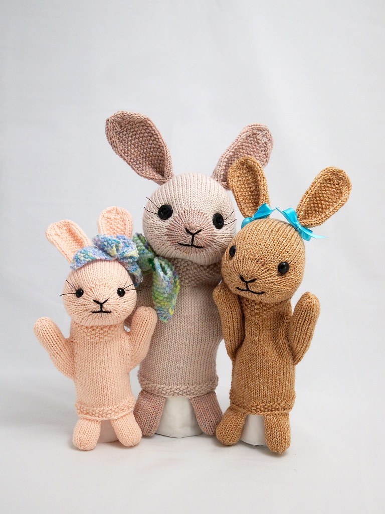 fuzzy thoughts bunnies puppets squee