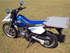 Suzuki DR650 DIY Carry Rack