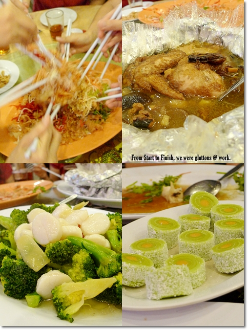 Chinese Dishes @ Soon Fatt Restaurant, Ipoh