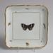Square porcelain dish, W221