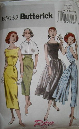 Butterick 5032 the retro '52 re-issue