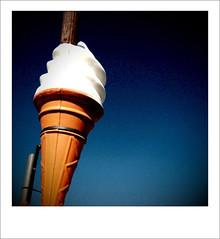 99 remix (www.chriskench.photography) Tags: polaroid nikon cone flake 99 icecream vanilla nikkor margate d90 kenchie