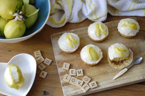 Lemon cupcakes 5