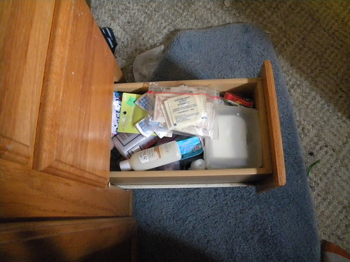 Lower Drawer - Before