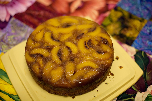 Peach Upside Down Cake, 233/365