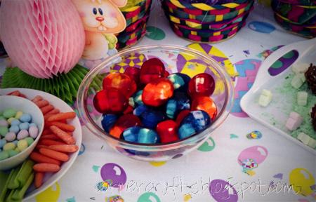 2nd-birthday-party-easter-girl-jell-o-gelatin-egg