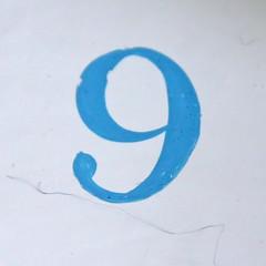 number 9 (Leo Reynolds) Tags: canon eos iso400 nine 9 number f56 135mm group9 onedigit number9 groupnine 40d numberproperty hpexif 0017sec grouponedigit grouppropertynumbers xsquarex xleol30x
