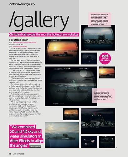 Ocean Recon SOTM in .net magazine