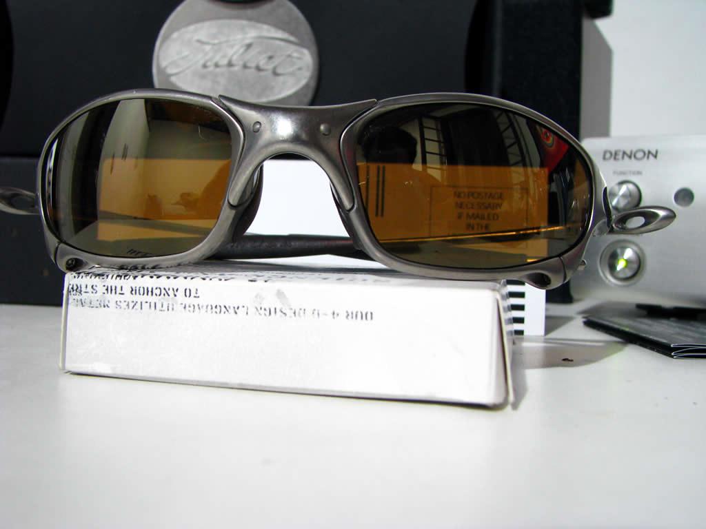 d83ff8f03 Oakley Juliet Titanium Gold Iridium (fireuno) Tags: metal gold x 2nd juliet  titanium