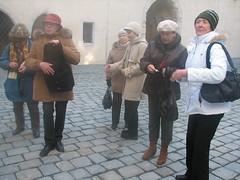 Vycházka na Špilberk a návštěva komentované výstavy, 9. 3. 2010