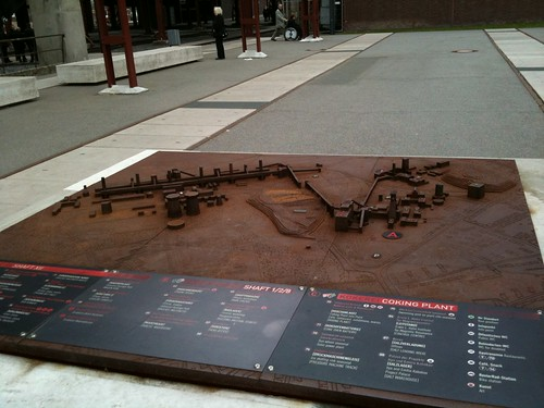 Scale model Zollverein coper