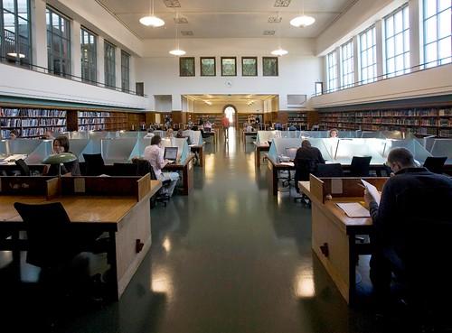 Nasjonalbiblioteket lesesal