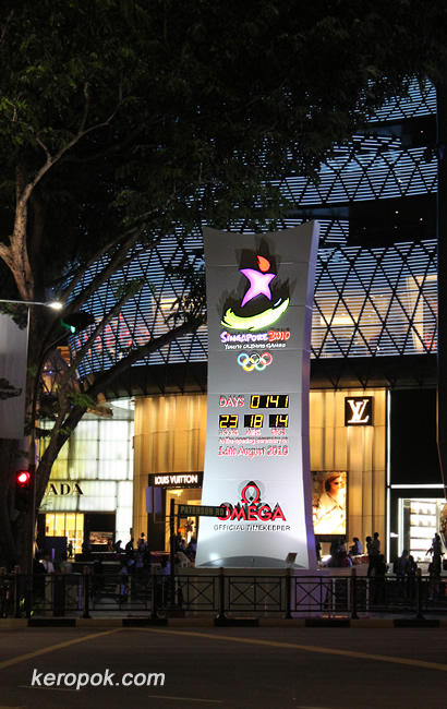 Singapore 2010 Youth Olympic Games - 141 more days