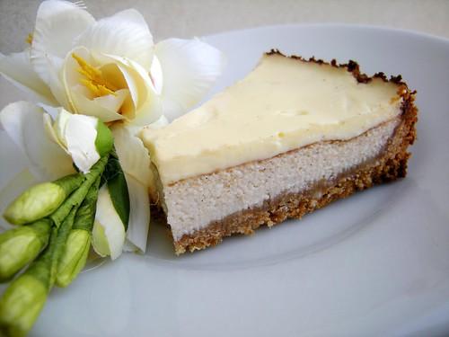 fetta di cheese cake