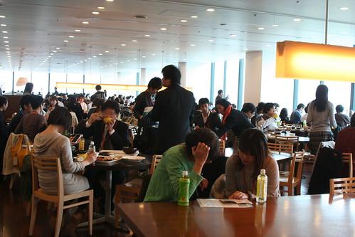 ソフトバンク社食イベント