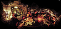 Cheers ! (steven -l-l-l- monteau) Tags: light panorama france beer rain bar digital pub flickr candle beers pentax bordeaux pluie explore davidhockney cheers steven optio frontpage pointshoot planb sant bire w10 bougie lll flickrmeeting panography bires 2l pichet panograph sortiephoto monteau frogrosbif panographie compactnumrique annul bordeauxcub stevenmonteau serfugierdansunbar
