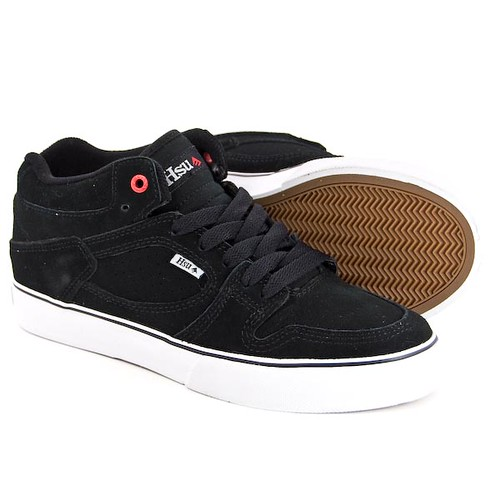 hsu black skateboard shoes
