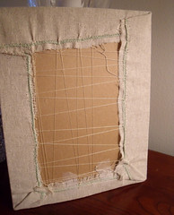 Back View of  I'm Stitching Along Sampler (ldh.) Tags: im sampler embroidery stitching along