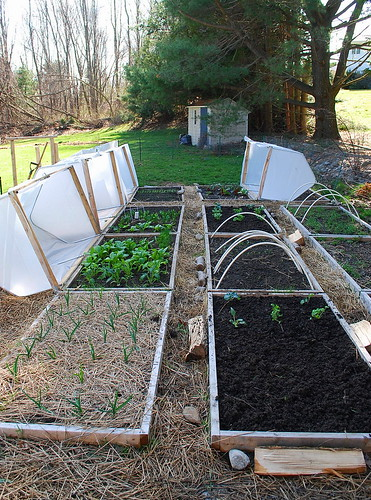 vented hoop houses