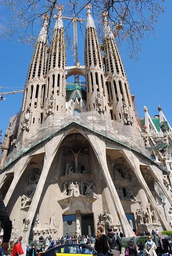 La Sagrada Família por Gill Rickson.