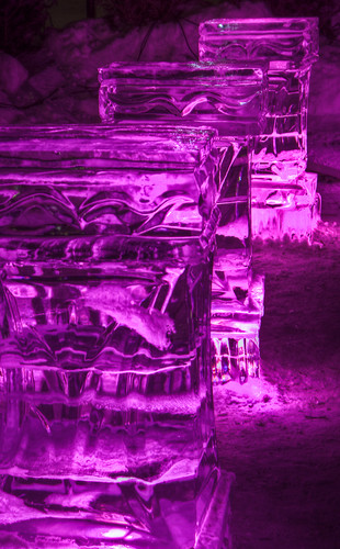 Ice Tables - Quebec Winter Carnival