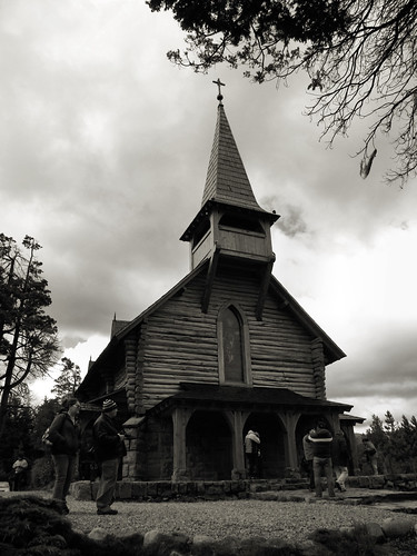 Capilla San Eduardo, Bariloche, Argentina by katiealley on Flickr
