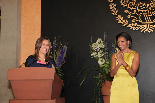Recepción en Honor de la Sra. Michelle Obama