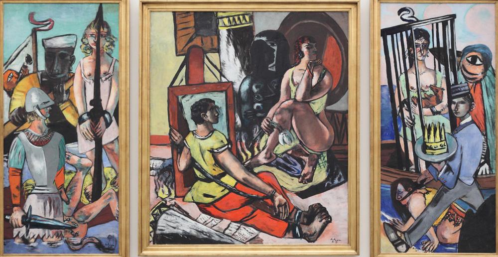 Max Beckmann, Versuchung des Heiligen Antonius [Temptation of St Anthony], 1936-37