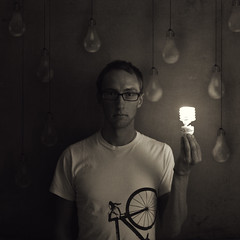 This Little Light Of Mine (Boy_Wonder) Tags: light lightbulb canon is joel here inside 365 the totw so selfiesquared