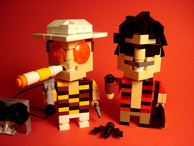 CubeDude Raoul Duke and Dr. Gonzo
