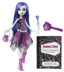 Promo Spectra with diary (Veni Vidi Dolli) Tags: mattel monsterhigh spectravondergeist