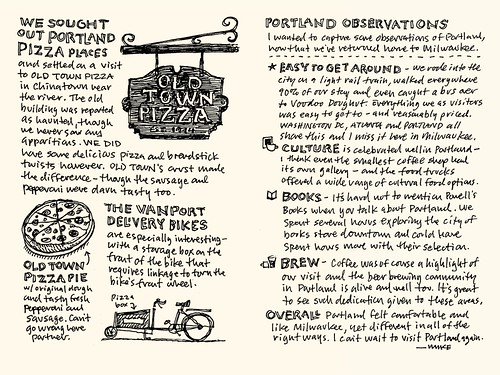 Portland Sketchnote Travelogue: 07-08