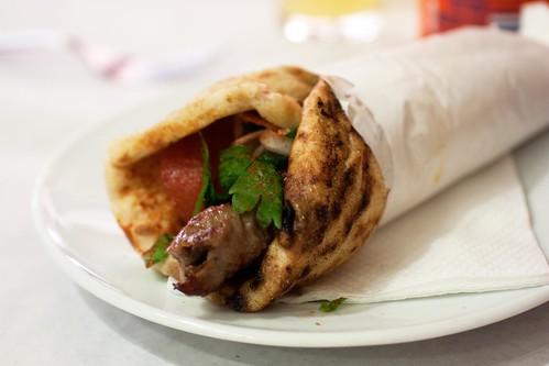 kebab @ o thanasis