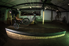 Joel Fortin (Graham Howe Photos) Tags: sports bike canon bmx action flash extreme bikes 150 strobe joyride