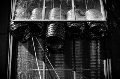 Escape Pipes 2 (PDPhotography) Tags: bw white toronto black slr monochrome vent pipes 2014 500px ifttt