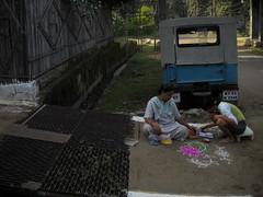 Every body busy in Rangoli , Diwali celebration with family : Sarni, Madhya Pradesh, India (dushyant_fst) Tags: india lakshmi deep firework festivaloflight monika ganesh cracker diwali hinduism crackers deepawali rangoli ganeshji 429 superd sarni goddessofwealth lakshmiji subhdiwali dushyantgadewal shobharamgadewal manjulatagadewal