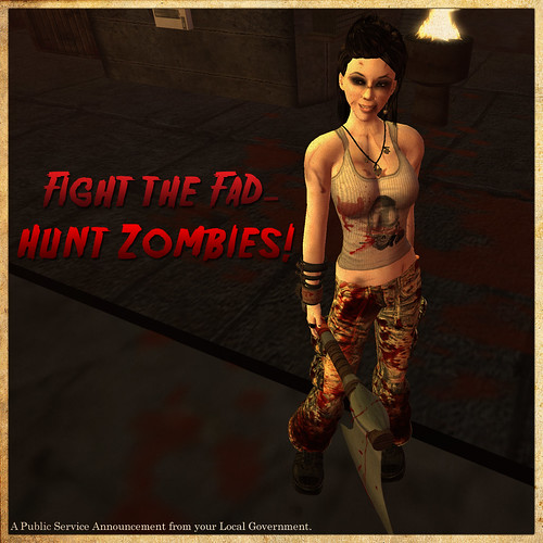 PSA - Hunt Zombies!