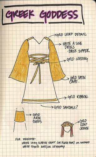 Greek Goddess costume idea