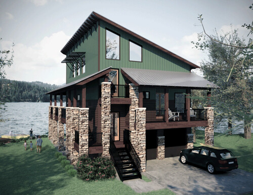 The Lake Austins House Design