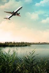 [フリー画像] 乗り物, 航空機, 旅客機, 201010101300
